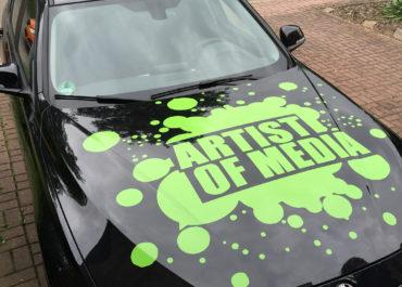 BMW 318d // Artist of Media Folierung