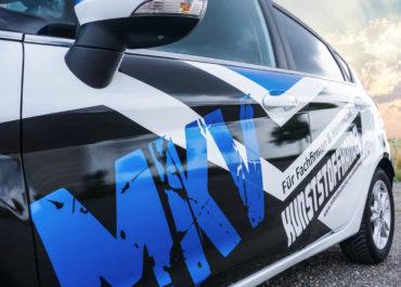 MKV Mitteldeutscher Kunststoffvertrieb / Folierung Ford Fiesta