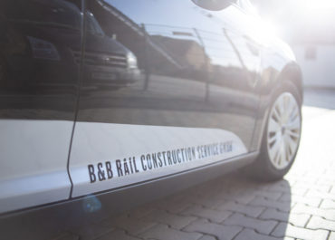 B&B RAIL CONSTRUCTION SERVICE GMBH // Folierung Ford Focus und Ford Mondeo