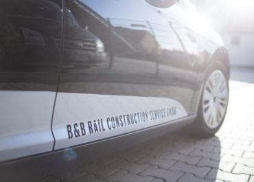 B&B RAIL CONSTRUCTION SERVICE GMBH // Folierung Ford Focus und Ford Mondeo