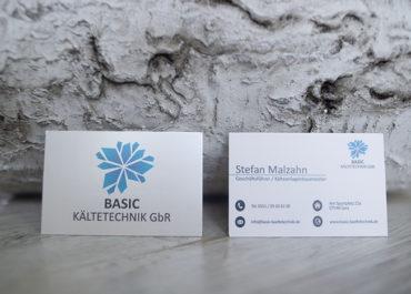 Basic Kältetechnik GbR // Visitenkarten