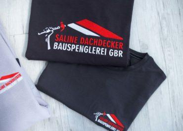 Saline Dachdecker Bauspenglerei GBR / Textildruck