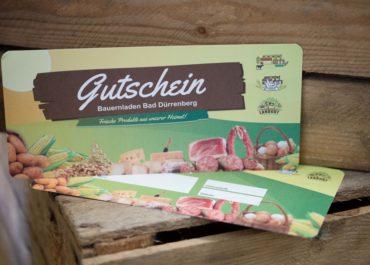 Agrargenossenschaft / Gutschein