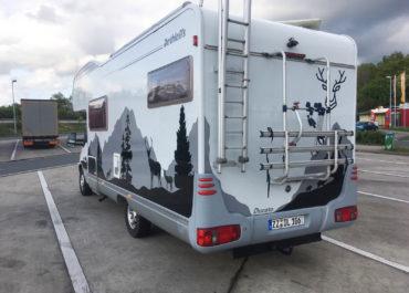 Wohnwagenfolierung // Design