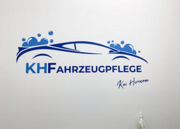 KH Fahrzeugpflege // Wandtattoo