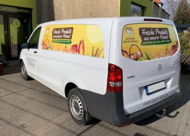 Agrargenossenschaft // Folierung Mercedes Vito