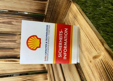 Shell // Faltflyer Sicherheitsinformationen