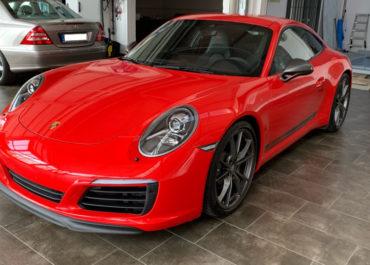 Porsche 911 T Carrera // Steinschlagschutzfolie