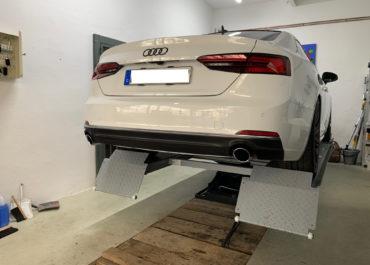 Audi Carbonfolie