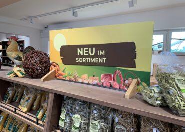 Werbeschild // Agrargenossenschaft Bad Dürrenberg