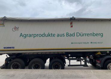 Agrargenossenschaft Bad Dürrenberg / Folierung LKW