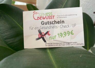 Gutscheine // Geniess Bewusst