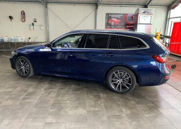 BMW 320i G21 // Sonnenschutz