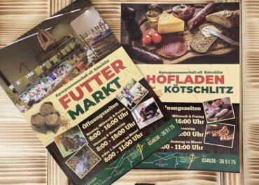 Agrargenossenschaft Kötschlitz // Flyer