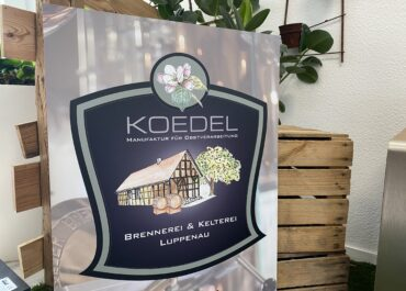 Brennerei Ködel // Werbeschild