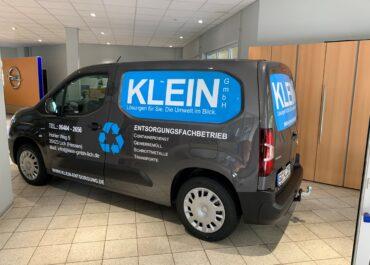 KLEIN GmbH // Folierung Opel Combo