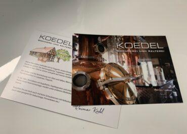 Flyer // Brennerei Ködel