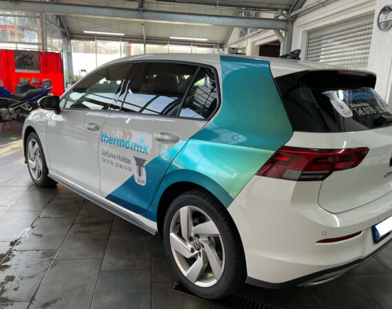 Golf GTE Thermomix Car Wrapping