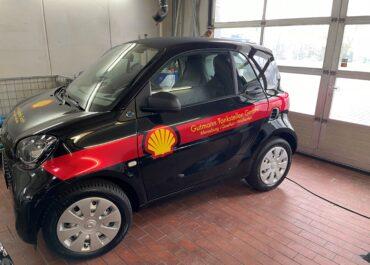 Folierung eines Smart EQ im Shell Design