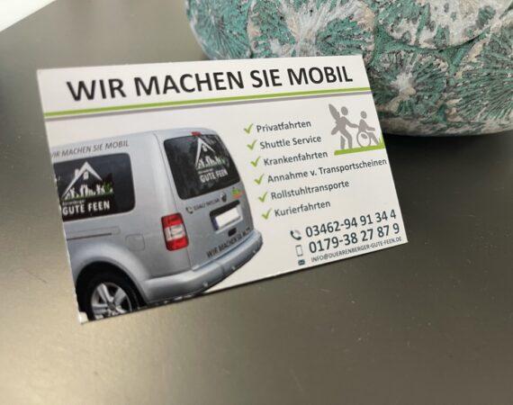 Visitenkarten // Bad Dürrenberger Gute Feen