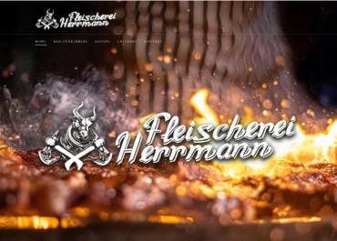 Webseite Fleischerei Hermann