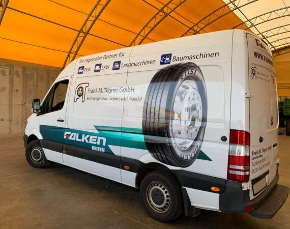 Mercedes Sprinter Folierung // Frank M. Tilgner GmbH