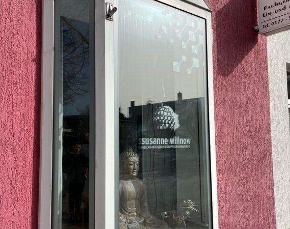 Schaufenster Folierung // Susanne Willnow