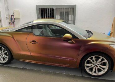 Teil-Folierung // Peugeot RCZ