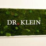 Moosbild für Dr. Klein
